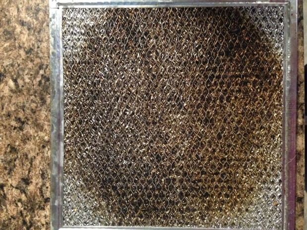 Stove Vent Hood Filter Degreasing | ChickenGateway.com