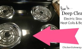 How to Clean Electric Stove Heat Coils and Bowls