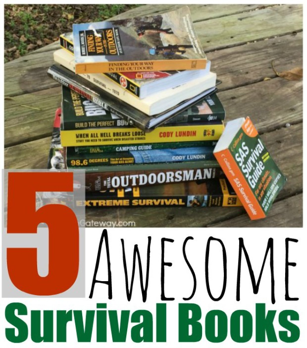 5 Awesome Survival Books | ChickenGateway.com